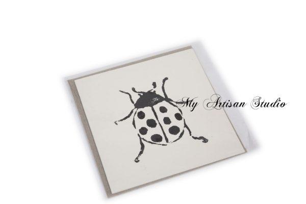 Lady Bug blank gift card