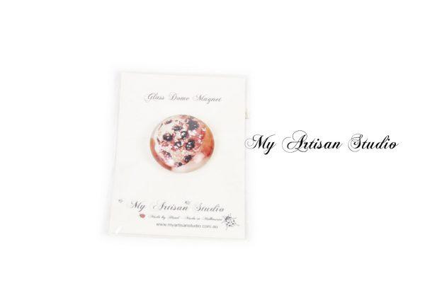 Muffins fridge magnet hand made gift Ballarat