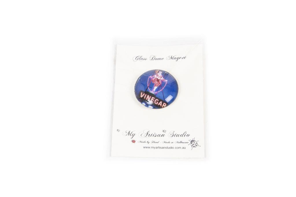 Skipping Girl Fridge Magnet Gift Hand Made Gifts Ballarat