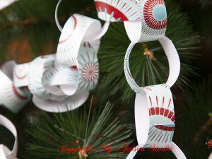 Paper Chain Christmas Decoration Ballarat