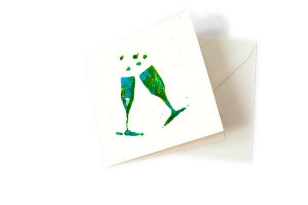 Engagement greeting card handmade Ballarat